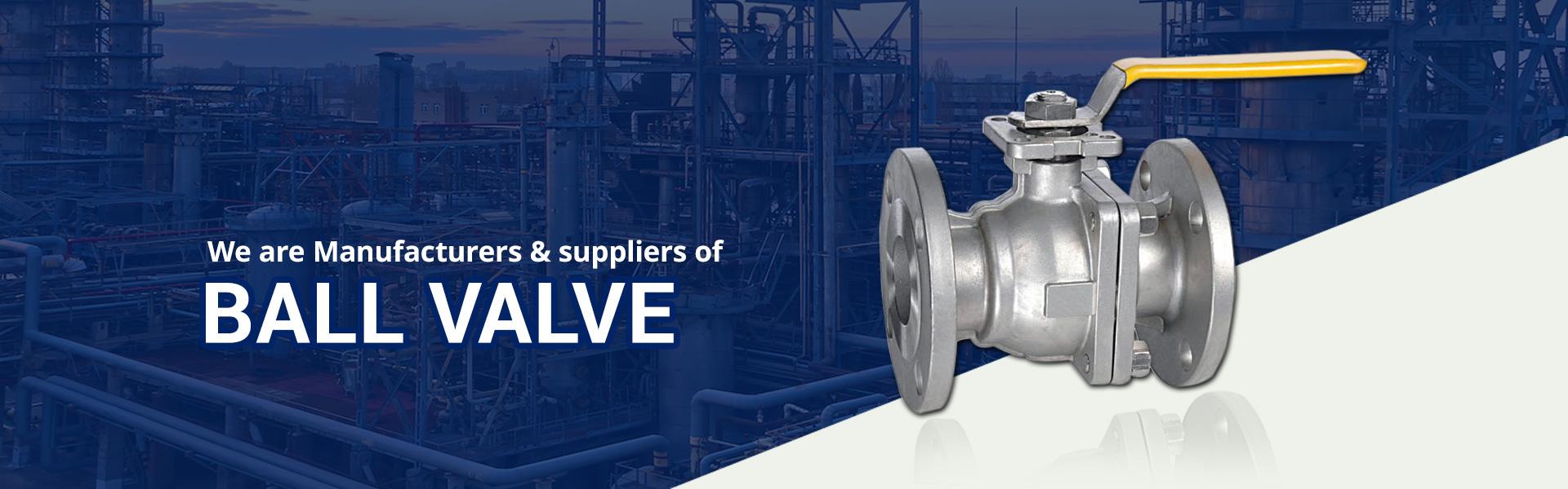Ball Valve Manufacturer and Supplier in Gujarat